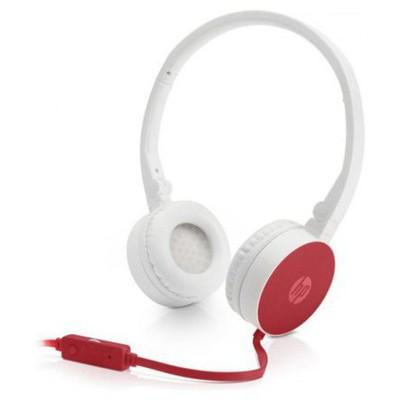 HP W1Y21AA 2800 Kırmızı Stereo Kulaklık