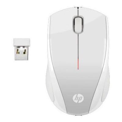 HP 2HW68AA X3000 Kablosuz Mouse Beyaz