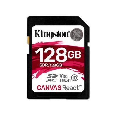 Kingston 128GB Canvas React U3 SDR-128GB