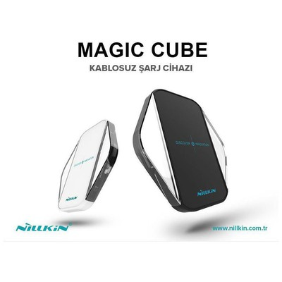Nillkin  6902048152533 Magic Disc Cube 10W Şarj