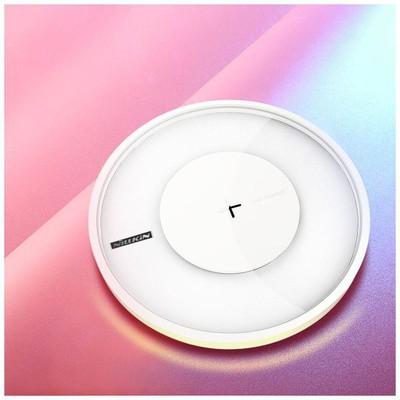 Nillkin  6902048152281 Magic Disc4 10W Hızlı Şarj Beyaz