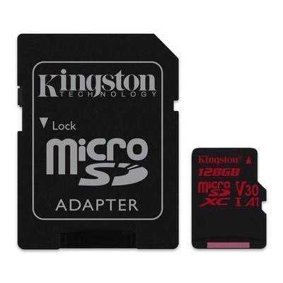 Kingston Canvas React 128GB MicroSDXC (SDCR-128GB)