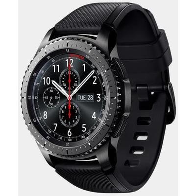 Samsung Gear S3 Frontier Siyah ((Android ve iPhone Uyumlu)