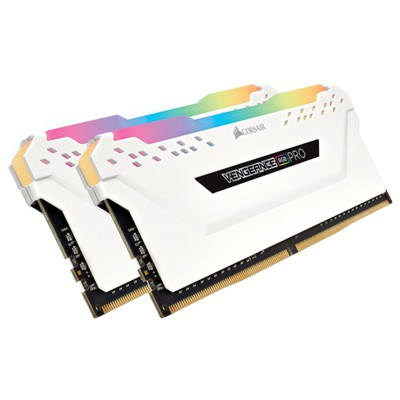 Corsair Vengeance RGB Pro White 2x8GB CL16 DDR4 Bellek (CMW16GX4M2C3200C16W)