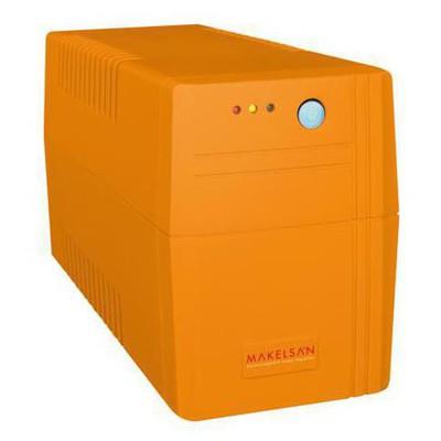 Makelsan LION X Serisi 650VA (1x 7AH) 5-10dk Line İnteraktif Kesintisiz Güç Kaynağı -