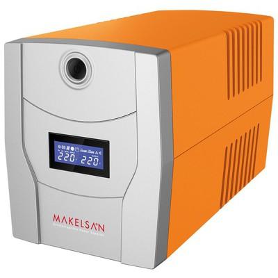 Makelsan LION X Serisi 1200VA (2x 7AH) 30dk Line İnteraktif Kesintisiz Güç Kaynağı -