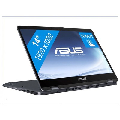 "Asus VivoBook Core i5-8250 4GB 256GBSSD 2GB MX130 14"" Dokunmatik Win10 (TP410UF-EC034T)"