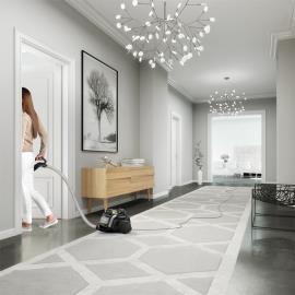 12 metrelik menzile sahip Multi Room System™ sayesinde tek seferde süpürme