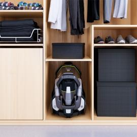 Kolay olduğu kadar esnek saklama imkanı sunan kompakt ve hafif tasarım