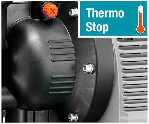 <strong>Otomatik güvenlik kapanma fonksiyonu</strong><br/>  Pompa sıcak çalışırsa, hasara neden olur.