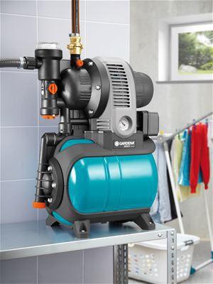 <strong>Kompakt ve az yer kaplayan</strong><br/>  Manometre ve basınç şalteri az yer kaplayan tarzda tasarıma entegre edilmiştir. Bu Classic Konut Suyu Tertibatını çok kompakt yapar ve montajı içinde az yer gerektirir.