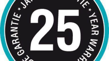 25 yıl garantili