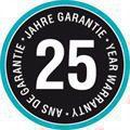 25 yıl garanti