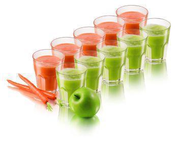 Tek seferde 2 litre meyve suyu hazırlayın.