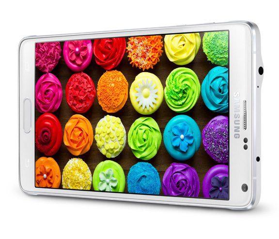 Üst Düzey Ekran(Quad HD Super AMOLED Ekran)