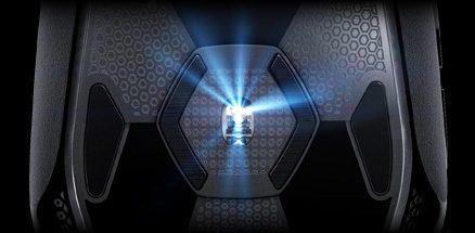 LED-illuminated PMW3366 sensor with Delta Zero technology