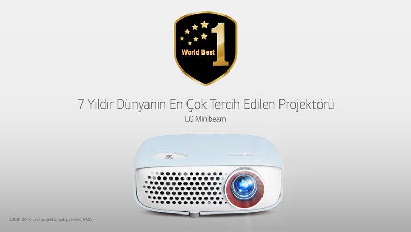 7 yıldır Dünyanın En Çok Tercih Edilen Projektörü