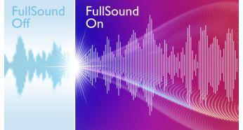 MP3 müziğe hayat veren FullSound™