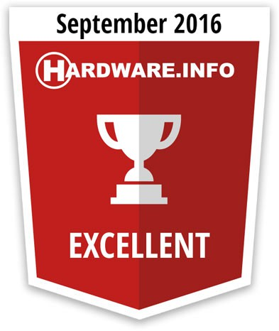 Hardware.info Excellent award MSI RX 470 Gaming X