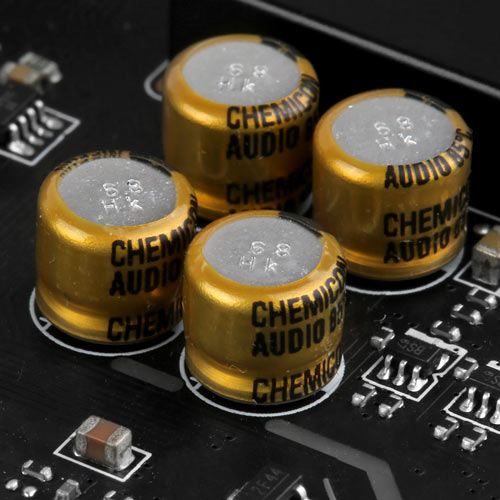 Chemi-Con ses kapasitörleri