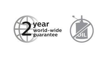 2 yıl garantili, yağlama gerekmez