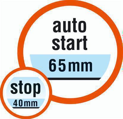 <strong>Otomatik çalışma</strong><br/> GARDENA Aquasensor fonksiyonuyla, su seviyesi 70 mm olduğunda pompa otomatik olarak çalışır. Pompa otomarik olarak kapandığı zaman iki bağımsız sensör sayesinde esnek bir şekilde ayarlanabilir.