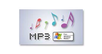 MP3/WMA-CD, CD ve CD-RW çalın