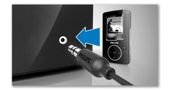 Taşınabilir müzik çalma için MP3 Link