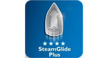 Mükemmel kayganlık için özel SteamGlide Plus taban