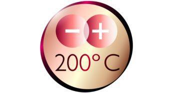 Mükemmel şekillendirme sonuçları için 200°C maksimum sıcaklık