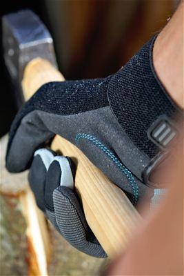 <strong>Yüksek güvenlikli giyme rahatlığı</strong><br/>Darbe emici blok ve nefes alabilen yüzeylerle en yük çalışma konforunu sağlar. Mekanik ve motor gücüyle çalışan aletler ile çalışmak için ideal.