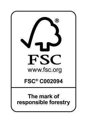 <strong>FSC sertifikalı ahşap</strong><br/>Avrupa menşeli keresteler FSC sertifikalıdır. GARDENA saplarında yalnızca iyi yönetilen ve sürekli ormanlardan elde edilen kereste kullanılır.