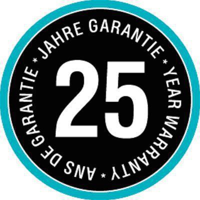 <strong>25 yıl garanti</strong><br/>25 yıllık garanti en yüksek kalite demektir.