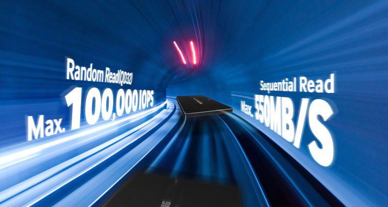 Sektörde lider 3D V-NAND SSD ile performansı artırın