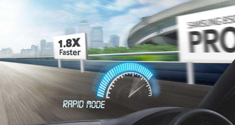 Gelişmiş RAPID mod ile yüksek vitese geçin
