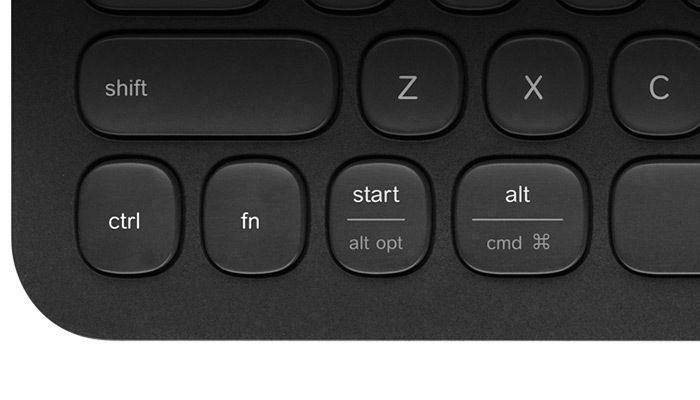 K480 Windows and Mac keys