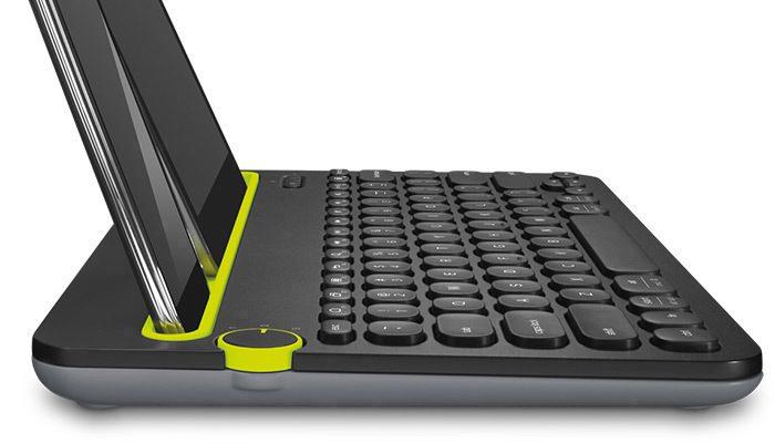 Keyboard side view
