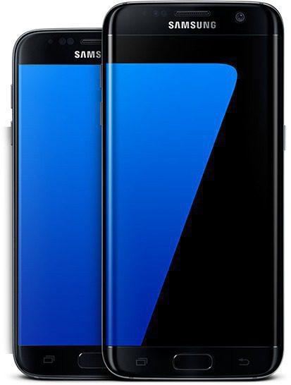 Galaxy S7 edge ekranında Samsung Kullanıcıları uygulaması