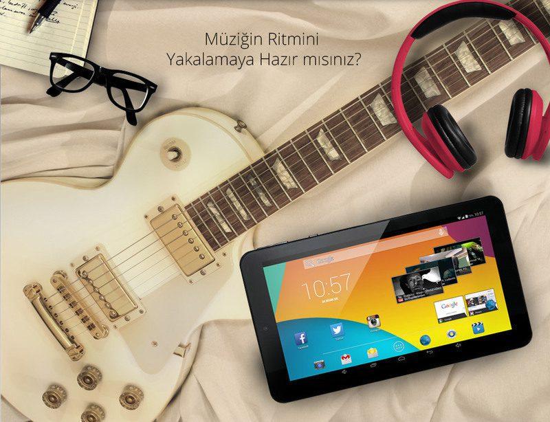 Zoom II Tab-Müziğin Ritmini Yakalamaya Hazır mısınız?