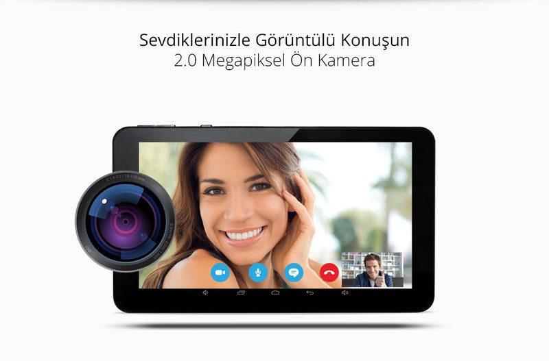 Zoom II Tab-Sevdiklerinizle Görüntülü Konuşun