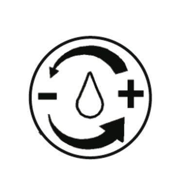 <strong>Su miktarı istediğiniz miktarda ayarlanabilir.</strong><br/> Yüksek veya düşük su basıncı - uygulamaya bağlı: su miktarı istediğiniz miktarda ayarlanabilir ve kapatılabilir.