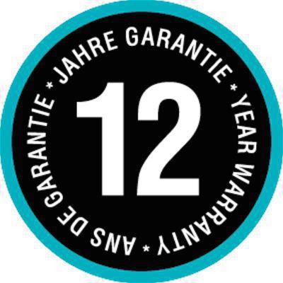 <strong>12 yıl garantili, yüksek kalite ve uzun ömürlü hortum.</strong><br/> Kalitemizi ispatladık. Bu yüzden GARDENA uygun kullanımı ile bir 12 yıl garanti verir.