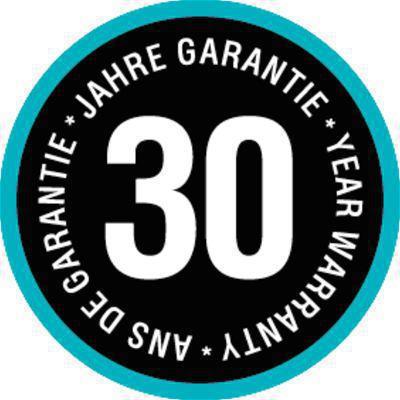 <strong>30 yıl garantili, yüksek kalite ve uzun ömürlü hortum.</strong><br/> Kalitemizi ispatladık. Bu yüzden GARDENA uygun kullanımı ile bir 30 yıl garanti verir.