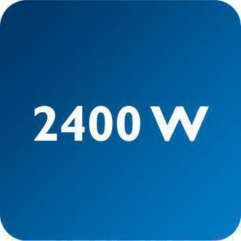 2400 W ile hızlı ütü ısınması