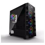 Power Boost X-59 Usb 3.0 Tempered Glass 4 X Rainbow Fixed Led Fanlı Gaming Kasa (psu