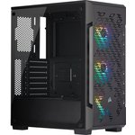 Corsair Cc-9011173-ww Icue 220t Rgb Airflow Tempered Glass Mid-tower Smart Case,