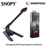 Snopy Rampage Sn-rm7x Siyah Masaüstü Mikrofon