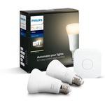 Philips Hue Beyaz Akıllı Başlangıç Seti 2'li E27 Bluetooth Özellikli