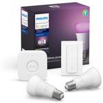 Philips Hue Renkli Akıllı Başlangıç Seti 2'li Kumandalı E27 Bluetooth Özellikli