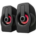 Snopy Sn-x23 Rgb Işıklı 3w*2 Siyah Usb Speaker